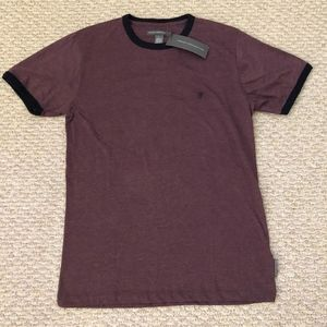 French Connection Mens Crewneck Tee (Purple)